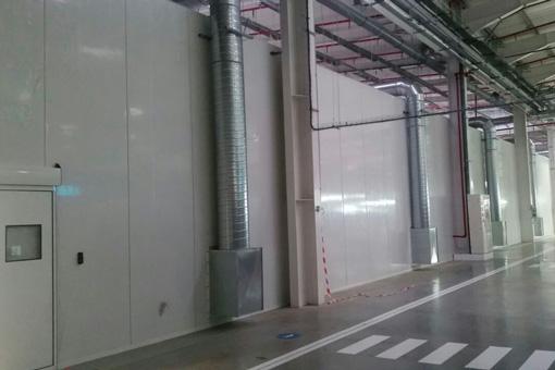 AHLDE corridor view in Tanger