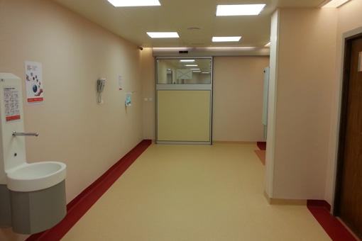 Bouafi hospital corridor view 03