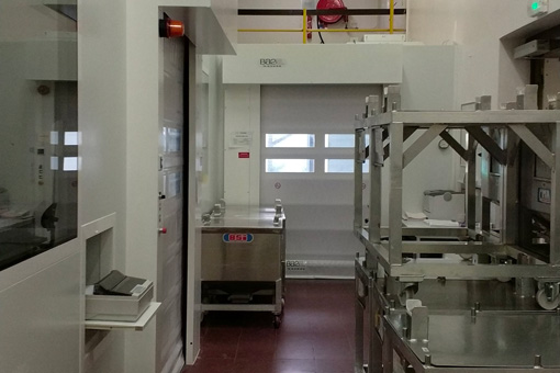 Clean rooms for Famar GER2i, Saint-Genis-Laval, France - view 03