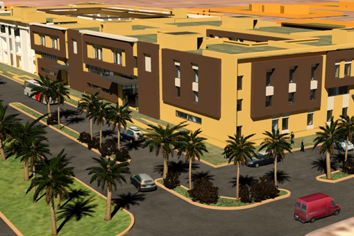 Marrakech Medical Center 3D view
