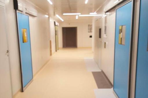 Marrakech Medical Center BO corridor view 02