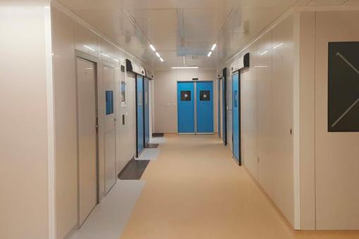 Marrakech Medical Center BO corridor view 03