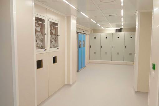 Marrakech Medical Center BO corridor view 04