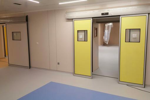 Marrakech Medical Center BO corridor view 08