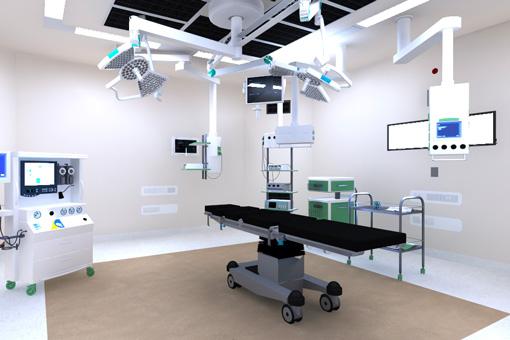 Marrakech Medical Center BO operating room 1
