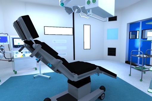 Marrakech Medical Center BO operating room 2