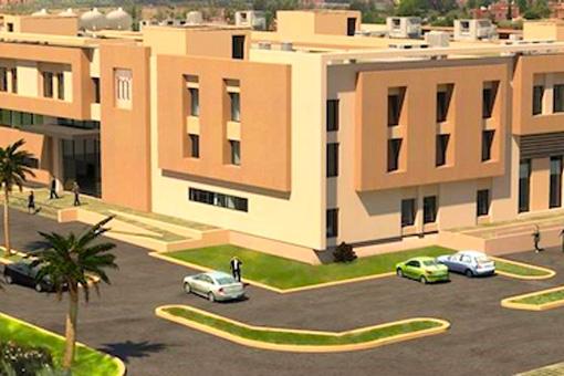 Marrakech Medical Center facade view 03