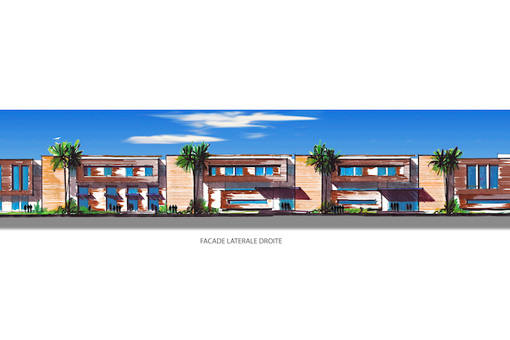 Marrakech Medical Center facade view 05