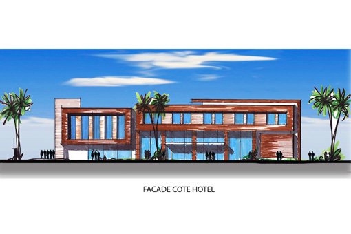 Marrakech Medical Center hotel facade view 02