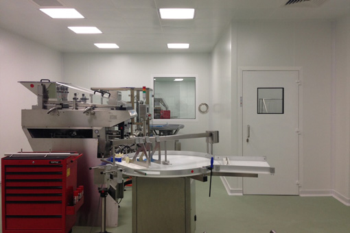Packaging Area in Pharmaceutical Production Facilities in Zentiva S.A., Bucharest, Romania - view 02