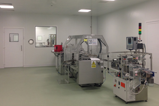 Packaging Area in Pharmaceutical Production Facilities in Zentiva S.A., Bucharest, Romania - view 04