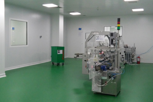 Packaging Area in Pharmaceutical Production Facilities in Zentiva S.A., Bucharest, Romania - view 07