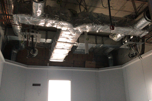 AHLDE HVAC system view 4 Hôpital Universitaire, Bouskoura, Maroc